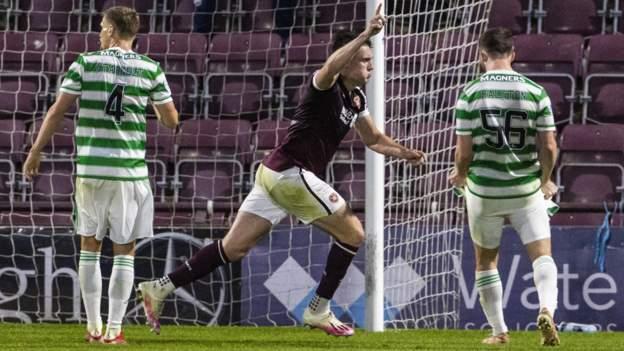 Hearts 2-1 Celtic: John Souttar header claims win for Robbie Neilson's facet