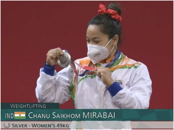 Mirabai Chanu earns India its first medal at Tokyo Olympics, bags Silver medal in women's 49kg weightlifting