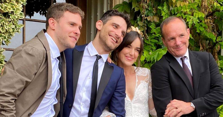 'Brokers of SHIELD' Stars Reunite for Elizabeth Henstridge's Marriage ceremony