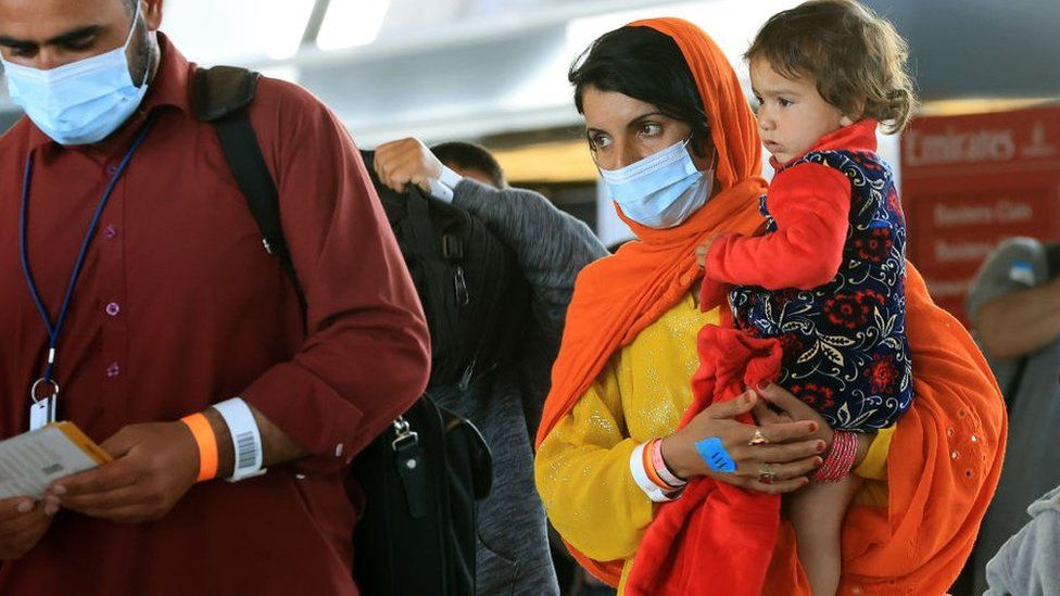 What now for Afghans arriving in America?