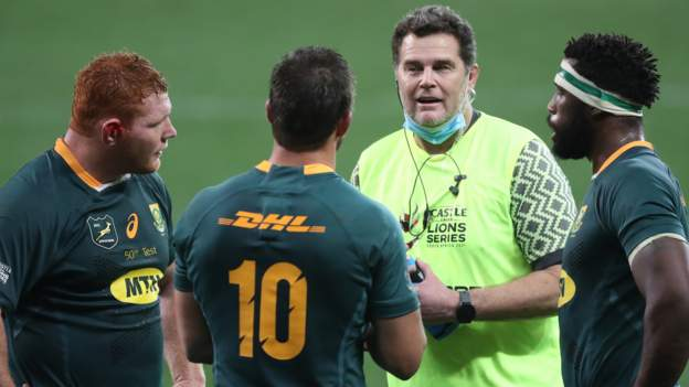 South Africa: Rassie Erasmus faces misconduct listening to for criticising officers in defeat by Lions