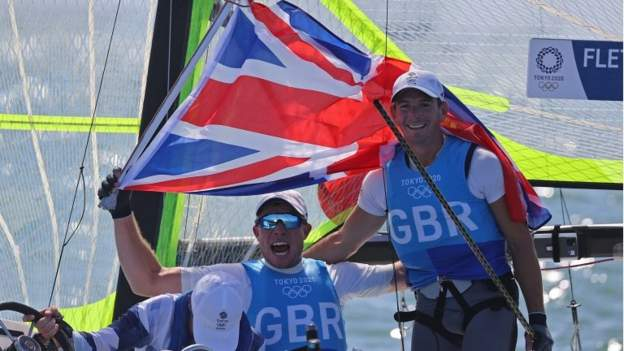 Tokyo Olympics: Dylan Fletcher and Stuart Bithell win gold for Nice Britain in males's 49er crusing
