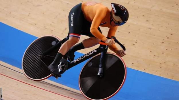 Tokyo 2020: Shanne Braspennincx wins keirin gold six years on from coronary heart assault