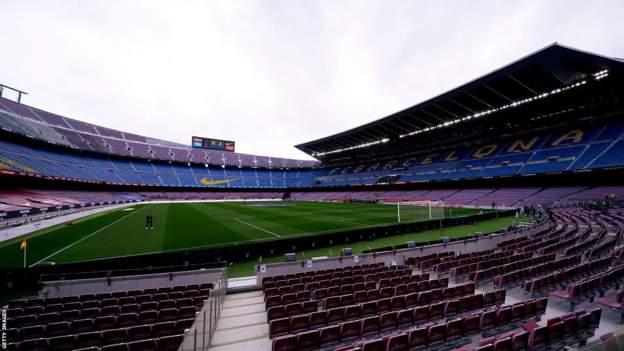 Barcelona president Joan Laporta reveals membership debt stands at £1.15bn