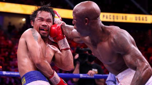 Manny Pacquiao loses to Yordenis Ugas on return to ring