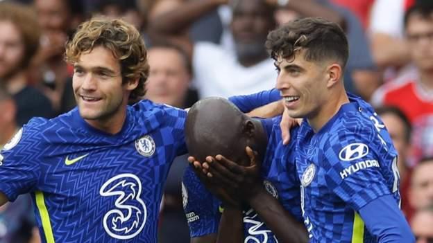 Arsenal 0-2 Chelsea: Romelu Lukaku scores as Blues win London derby