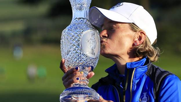 Solheim Cup: Europe's Georgia Corridor, Charley Hull and Mel Reid to face US crew that includes Nelly Korda