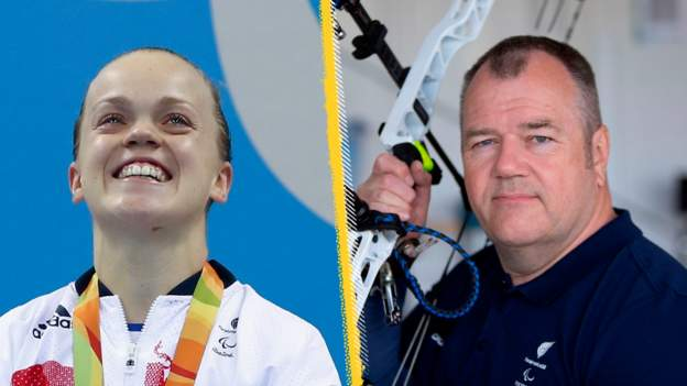 Tokyo Paralympics: Ellie Simmonds and John Stubbs to hold GB flag