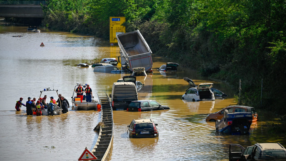 Local weather change made Europe's flash floods in July extra doubtless