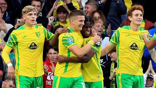 Carabao Cup: Norwich Metropolis 6-0 Bournemouth