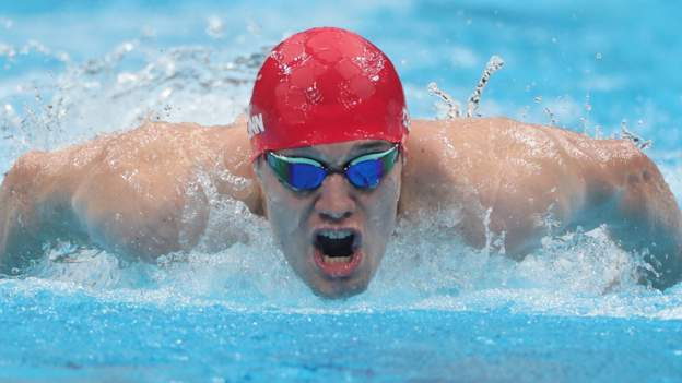 Tokyo Paralympics: Reece Dunn and Toni Shaw win swimming silver and bronze