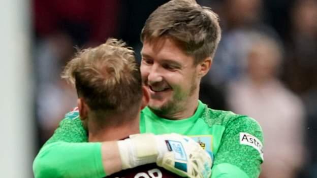 Newcastle United 0-0 Burnley (3-4 pens): Wayne Hennessey saves ship Clarets via
