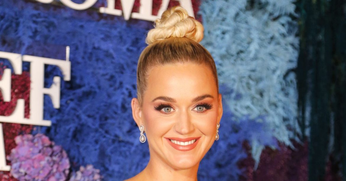 Katy Perry Celebrates Daughter Daisy's 1st Birthday With Candy Tribute