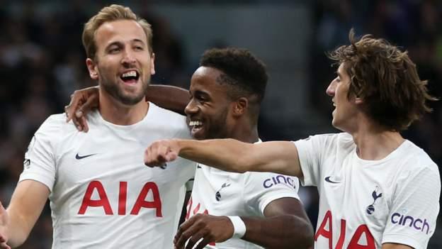 Tottenham 3-0 Pacos de Ferreira (agg: 3-1): Harry Kane scores twice on return