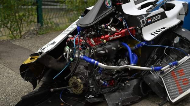 W Collection Belgium crash: Beitske Visser & Ayla Agren in hospital