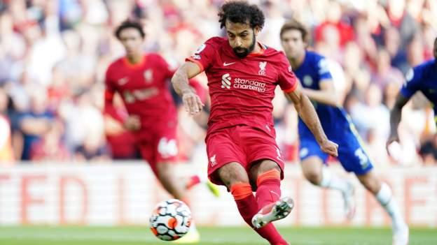 Liverpool 1-1 Chelsea: Mohamed Salah penalty equalises Kai Havertz header at Anfield