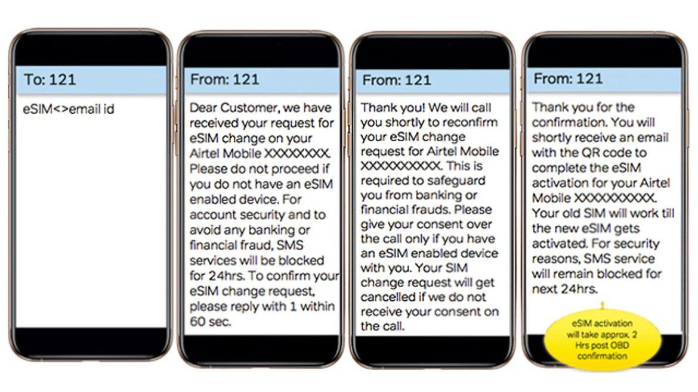 Activate Your Airtel eSIM