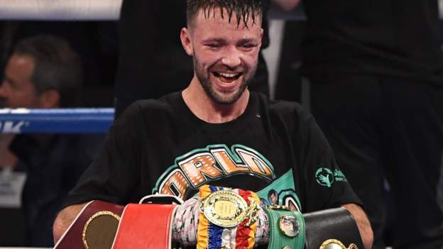 Josh Taylor: Undisputed world champion to face Jack Catterall in Glasgow