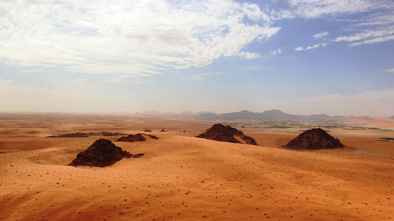 Stone Age people or their kinfolk often trekked via a inexperienced Arabia